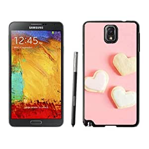 New Beautiful Custom Designed Cover Case For Samsung Galaxy Note 3 N900A N900V N900P N900T With Romance Sweet Love Heart Shape Dessert Phone Case
