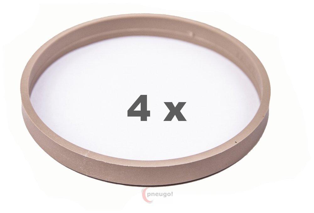 Bague de Centrage 4/x 72.0/sur 67,1/Beige
