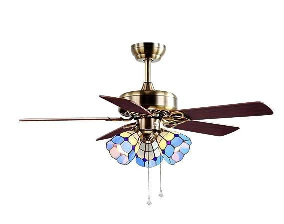 luz del ventilador de techo, con 42 pulgadas y 5 hojas de ...