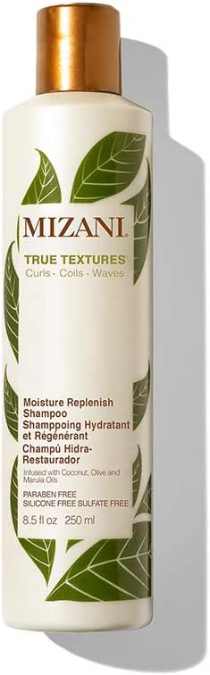 Mizani True Textures Moisture Replenish Shampoo for Unisex, 250ml