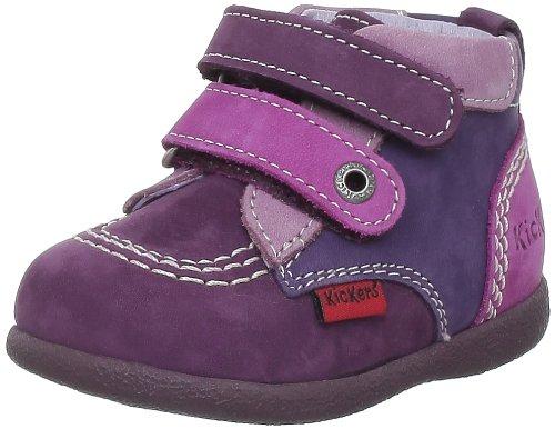 8b8be5a294a0e6 Kickers Babykick, Chaussures montantes bébé fille - Violet/fuchsia, 18 EU:  Amazon.fr: Chaussures et Sacs
