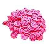 Sanbo Disposable Latex ESD Finger Cots Anti-Static Rubber Fingertips Protective Finger cots Pink 4 Mil Thick 1000 Pcs