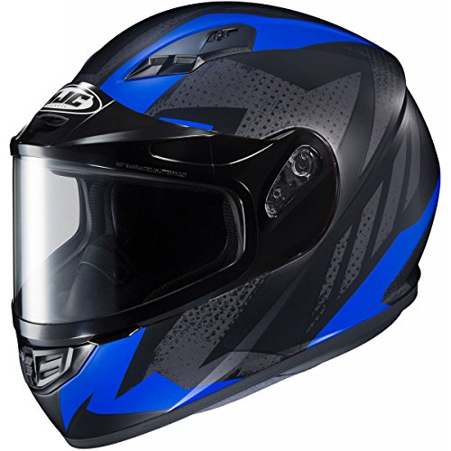 HJC Treague Mens CS-R3 Snow Racing Snowmobile Helmet - MC-2F Large