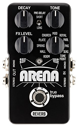 TC Electronic Arena Reverb Pedal by TC Electronic