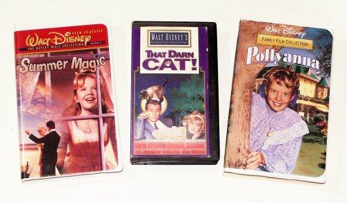 Hayley Mills Video Collection (3pk): Pollyanna; That Darn Cat; Summer (Summer Magic Hayley Mills)