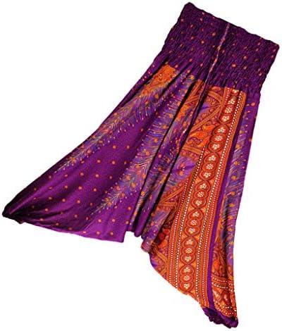 Baoblaze 女性 ハーレムパンツ サルエルパンツ ヨガパンツ トレーニングウェア ダンス ストレッチ パンツ 全6色