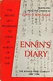 Ennin's Diary, Ennin, 0826074006