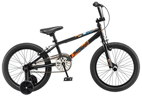 Mongoose Boys Switch 18 Wheel Bicycle Black [並行輸入品] B071422D6N
