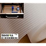 Skywalk Multipurpose Polyester Blend Super Strong Textured Anti Slip Eva Mat, 5m, White