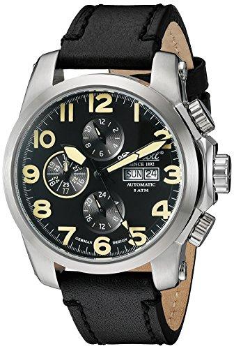 Ingersoll Men's IN2301SBK Pomo Analog Display Automatic Self Wind Black Watch