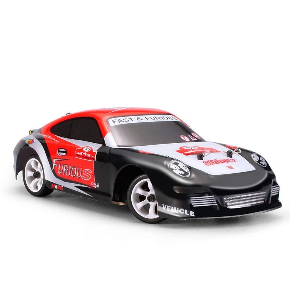 Pinjeer 1:28 RC蚊車フル比例ミニ高速30KM / H 4WDドリフトレーシングモデルカー知育玩具男の子グッドバースデーギフト用キッズ12+ (サイズ : 1-Battery) B07R66X8QB  1-Battery