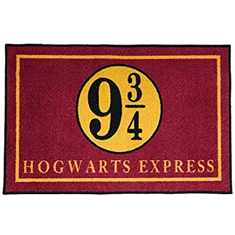f0cc13172e0 Amazon.com  Hogwarts Express Platform 9 3 4 Harry Potter Entry Doormat ~2   x 3  - FMS Exclusive  Kitchen   Dining