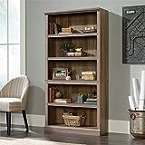 Sauder 420173 5-Shelf Bookcase 5, Salt Oak