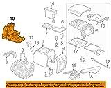 Volkswagen VW OEM 10-14 Jetta Rear Console-Cup Holder 1K5863383C81U