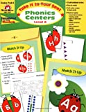 Take It to Your Seat Phonics Centers, Grades PreK-K offers