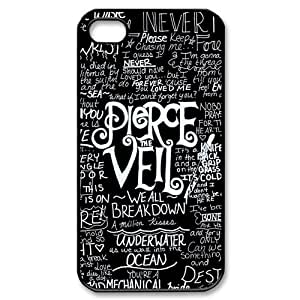 Fashion Pierce The Veil Personalized iPhone 4 4S Hard Case Cover -CCINO by runtopwellby Maris's Diary
