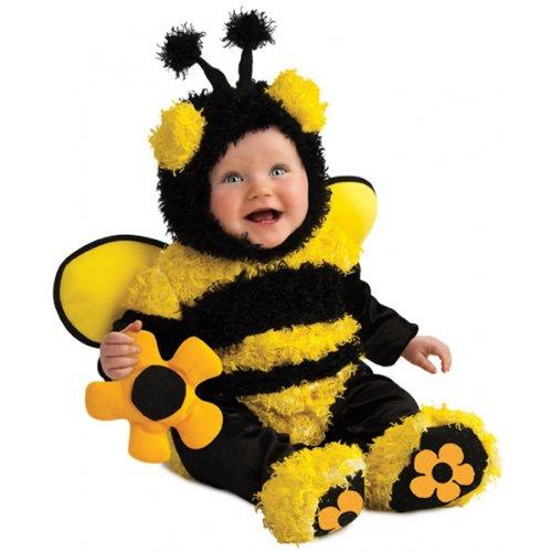[Rubie's Costume Noah's Ark Buzzy Bee Romper Costume, Yellow, 6-12 Months] (Cute Halloween Costumes For Newborn Babies)