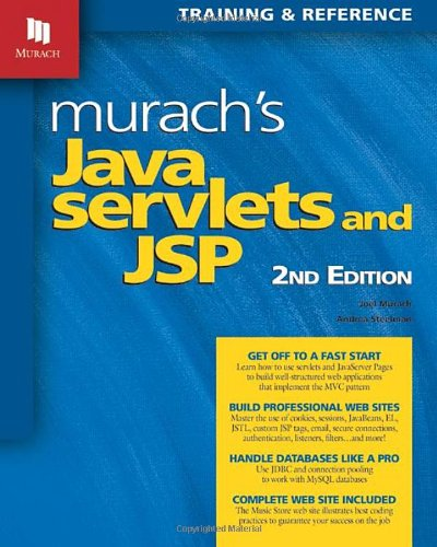 Murach's Java Servlets and JSP, 2nd Edition by Brand: Mike Murach Associates