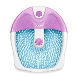 Conair Foot Spa/Pedicure Spa with Soothi...