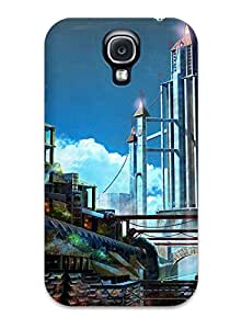 CjBtSfD1354OZIqA Tpu Case Skin Protector For Galaxy S4 City With Nice Appearance