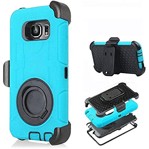 Galaxy S7 Edge Case,Cellaria Holster Pro X - [Shockproof][Drop Protection][Kickstand] Hybrid Armor Defender Case Cover with Stand + Belt Clip For Samsung Galaxy S7 Sales