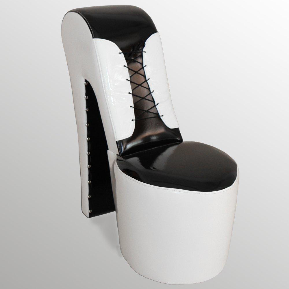 Perrotta A 34 High Heel Sessel Corsage Lack Glanz Optik Moderner