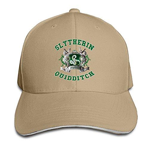 NUBIA Harry Potter-Slytherin Quidditch 5 Unisex Cap Adjustable Hat Natural