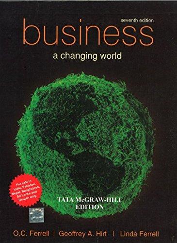 Business A Changing World Pdf