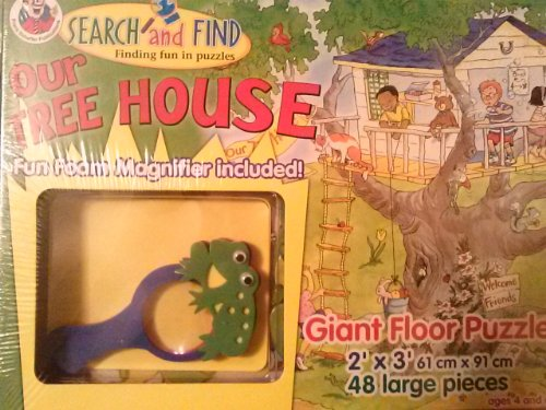 Our Tree House Search and Find Giant Floor ()