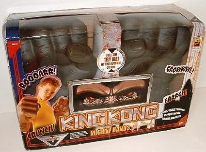 Amazon.com: King Kong Mighty manos con Power punzonado ...