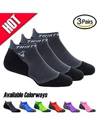 Ultralight Athletic Running Socks for Men and Women with...