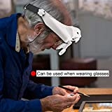 Headband Lighted Magnifying Glasses with Led