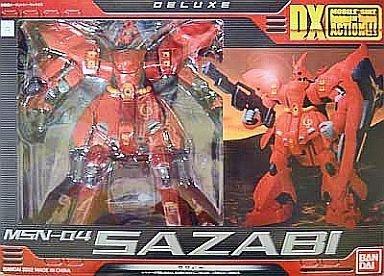 DX MS IN ACTION  MSN-04 Sazabi  Mobile Suit Gundam  Il contrattacco di Char  (Japan import   Il pacchetto e il manuale sono in giapponese)
