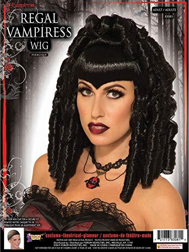 Black Vampiress Wig - Forum Novelties Womens Vampiress Regal Wig Black
