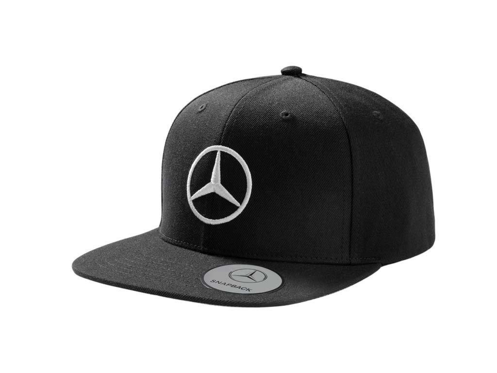 Amazon.com: Original Mercedes Benz Flat Brim Cap Black B66953170: Automotive