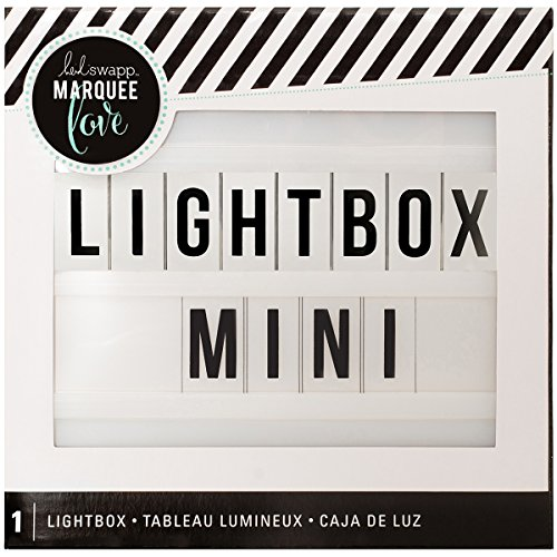 American Crafts Heidi Swapp Mini Lightbox White, 6.5