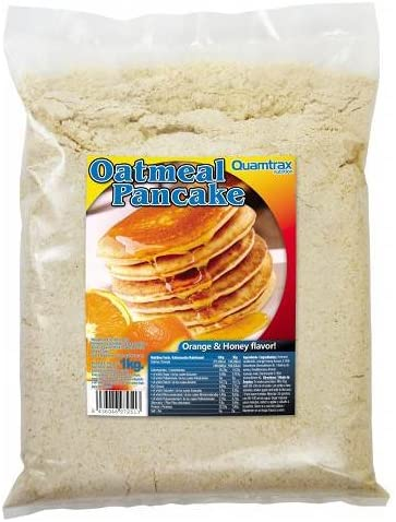 Quamtrax Oatmeal Pancake - Tortitas de Avena 1 Kg - Fresa-Cream: Amazon.es: Deportes y aire libre