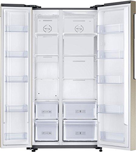 Samsung 674 L Frost Free Side By Side Refrigeratorrs62k6007fgtl