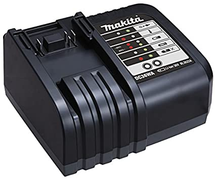 Makita 195471-5 - Cargador 36V DC36WA Litio-ion: Amazon.es ...