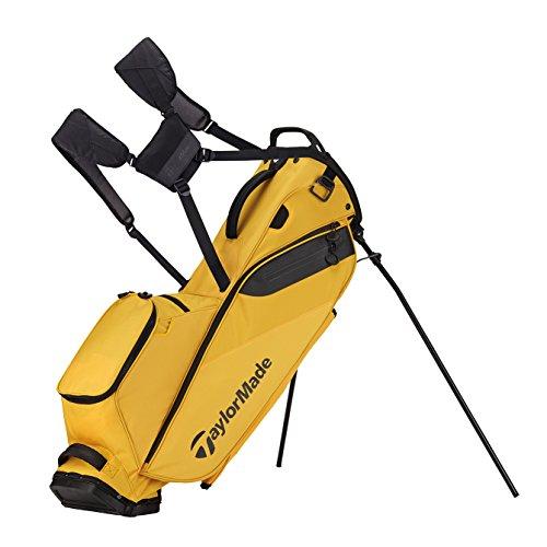(TaylorMade Golf Flextech Lite Stand Bag Yellow (Yellow))