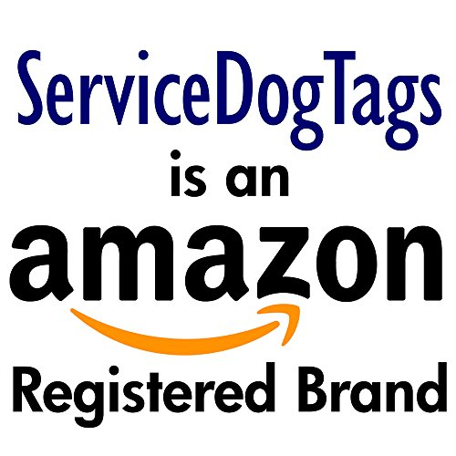 Service Dog Emergency Car Stickers ★ Set of 2 ★ Put on Car or Home Windows or Doors to Notify Police or Firefighters by Service Dog Tag (Image #2)