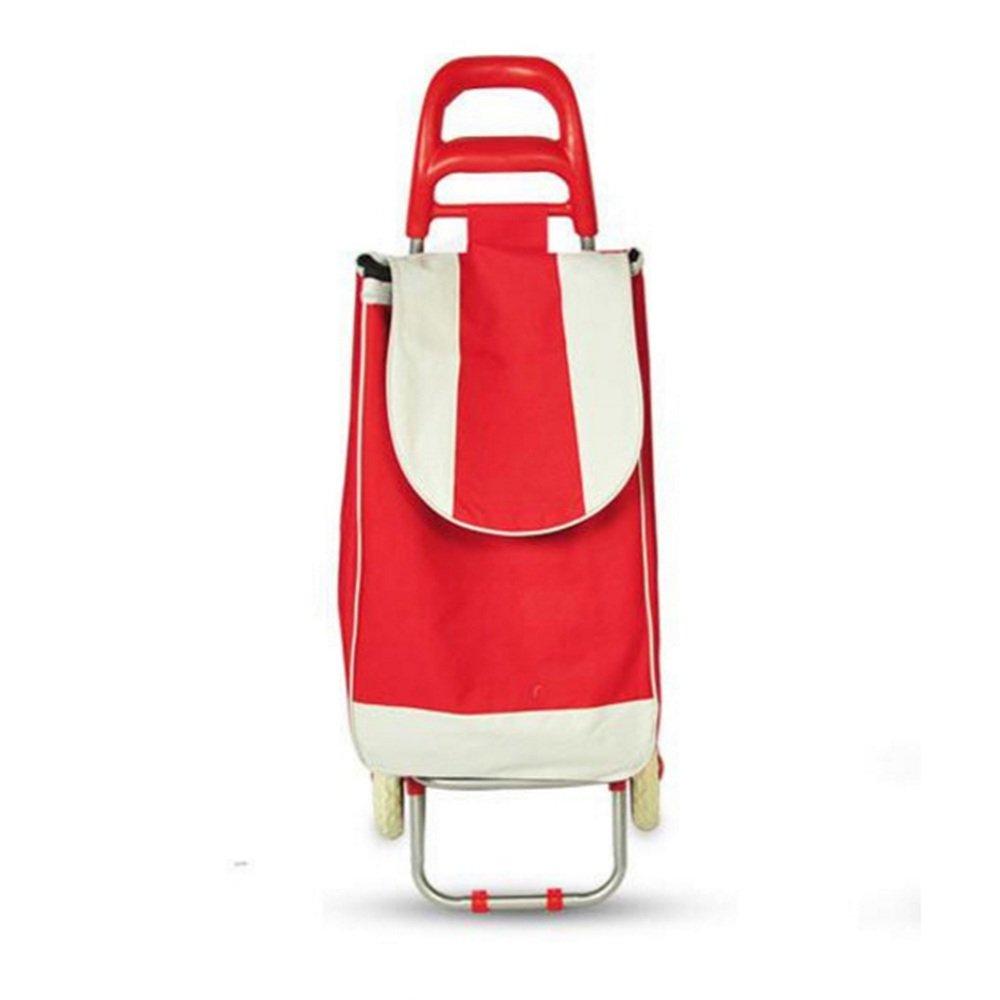 ZR-ショッピングカート Cuando no esté en uso, no necesita preocuparse por el espacio de almacenamiento que ocupará un carrito de la compra. La gama Hoppa simplemente se pliega, lo que le permite guardar el carrito de forma sencilla y cómoda detrás de una puerta, en un armario o en el maletero de su automóvil, listo para su próxima aventura. -ショッピングと持ち運び B07FMLHF3R Red Red