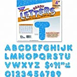 TREND® Ready Letters® LETTERS,SPARKLE 4'',BE (Pack of10)