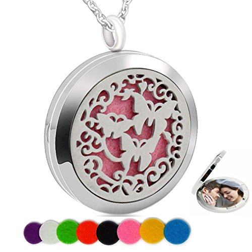 Chaomingzhen Essential Oil Necklace Magnetic Closure Aromath