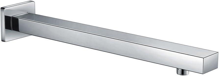 Moderna ducha de acero inoxidable, cabezal cuadrado, 25,4cm Sun1003, sun015