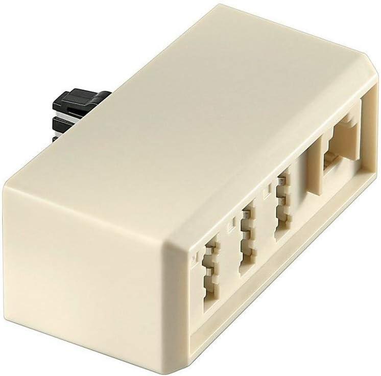 Goobay 50329 Tae Adapter Tae F Stecker 3x Tae N F Elektronik