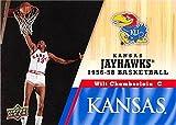 Wilt Chamberlain Basketball Card (Kansas Jayhawks, 1956-1958) 2013 Upper Deck #19