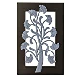 Craft Art India Decorative Handmade Wooden Wall Hanging/Mounting Life Tree Scenery {CAI-HD-0309-B/Size(Inch) : 1x17x11}