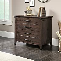 Sauder Carson Forge Lateral File in Coffee Oak