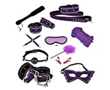 SuPoo 11pcs Perfect Sexy Love Restraint System Bondage SM BDSM Adult Bondage Kit